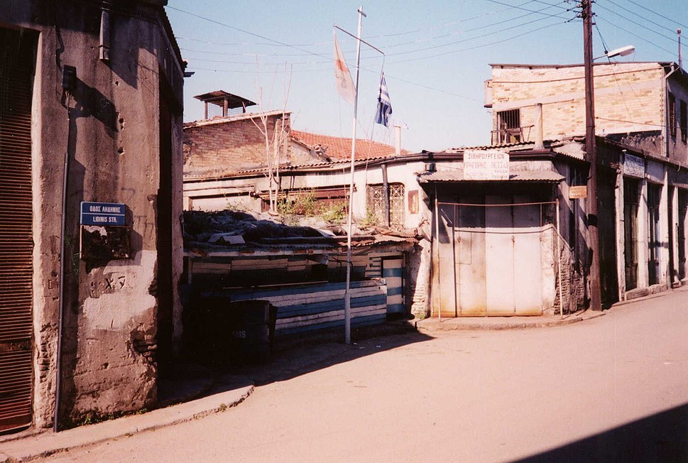 Nicosia. Green Line