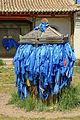 Niebieskie khadagi w klasztorze Erdene Dzuu.jpg