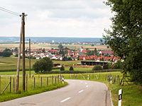 Niederrieden, MN - Holzgünzer Str - Niederrieden v SO, Fellh.JPG
