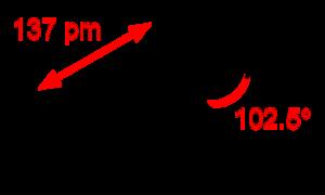 Nitrogen trifluoride - Image: Nitrogen trifluoride 2D dimensions