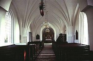 Tillitse Church - Interior