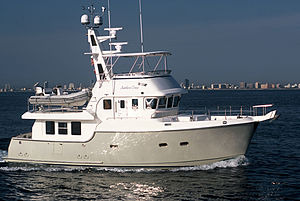 Recreational trawler - Nordhavn 47 foot trawler yacht