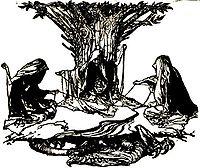 skæbnegudinder i nordisk mytologi