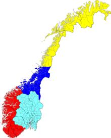 hvor mange dialekter i norge Otta