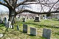 North Burial Ground Providence RI with trees and gravestones.jpg