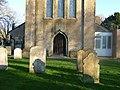 North door at St Margaret's Church, Ifield.JPG