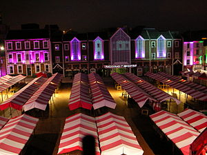Northampton Market Square Lights 4