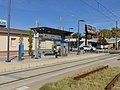 Northeast at 700 East station, Salt Lake City, Utah, Oct 16.jpg