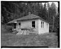 Northeast corner of employee House No. 2. - Rock Creek Hydroelectric Project, Rock Creek, Baker County, OR HAER OR-121-16.tif