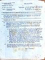 Note de service du Commandant en Chef Civil et Militaire pour notification de la 19ème Région, le 15 mars 1943.jpg