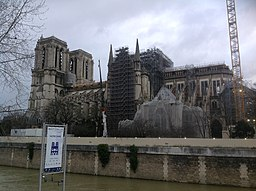 Notre Dame Cathedral Renovation Feb 29,2020