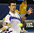 Novak Djokovic at the 2011 Australian Open3.jpg