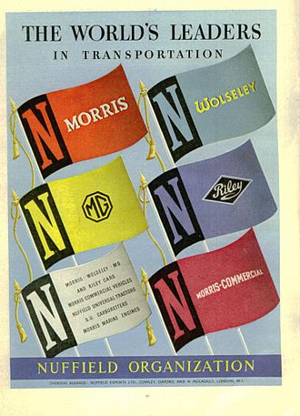 Nuffield Organization - Nuffield Organization advertisement: 1951