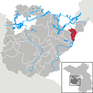 Nuthetal - Image: Nuthetal in PM