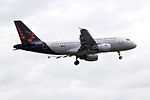 OO-SSN A319 Brussels Airlines (14521869618).jpg