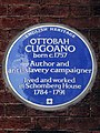 OTTOBAH CUGOANO born c.1757 Author and anti-slavery campaigner lived and worked in Schomberg House 1785-1791.jpg
