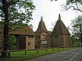 Oast House, Thorne Farmhouse, Forge Hill, Bethersden, Kent - geograph.org.uk - 787037.jpg