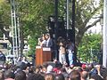 Obama at Darfur rally 4.JPG