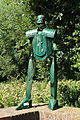 Oberhausen - Arminstraße - Burg Vondern - Der grüne Ritter 02 ies.jpg