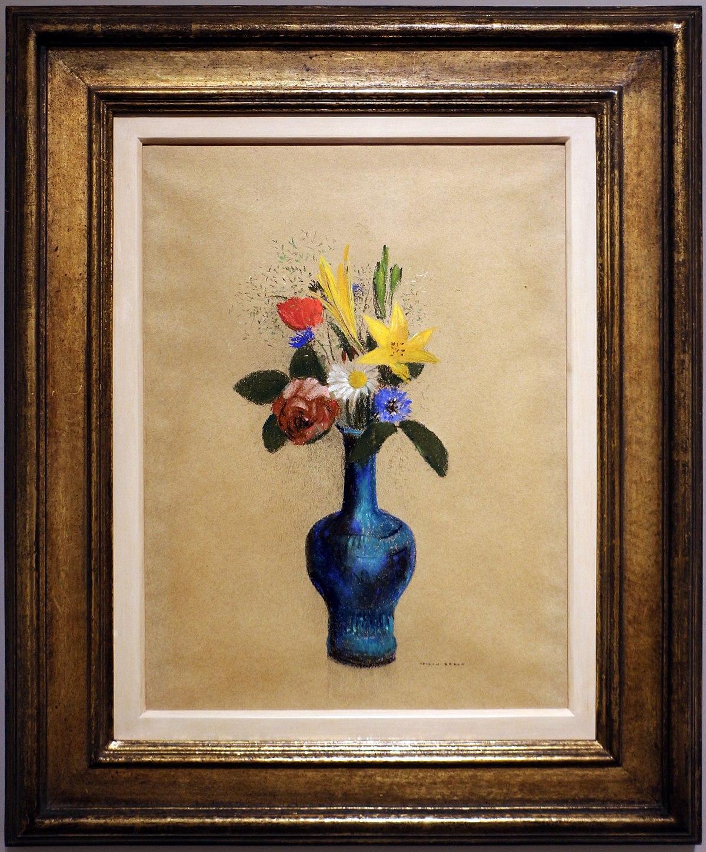 Mazzo Di Fiori Blu.File Odilon Redon Mazzo Di Fiori In Un Vaso Blu 1900 10 Ca Jpg