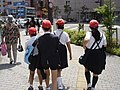 Off to school with Red cap in 2006.jpg