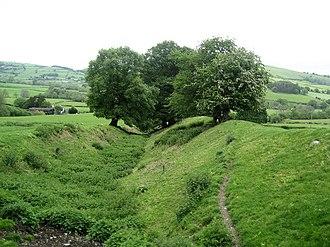 Offa's Dyke - Offa's Dyke near Presteigne, Powys