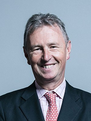 Nigel Evans - Image: Official portrait of Mr Nigel Evans crop 2