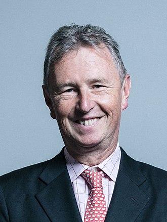 Nigel Evans - Image: Official portrait of Mr Nigel Evans crop 2