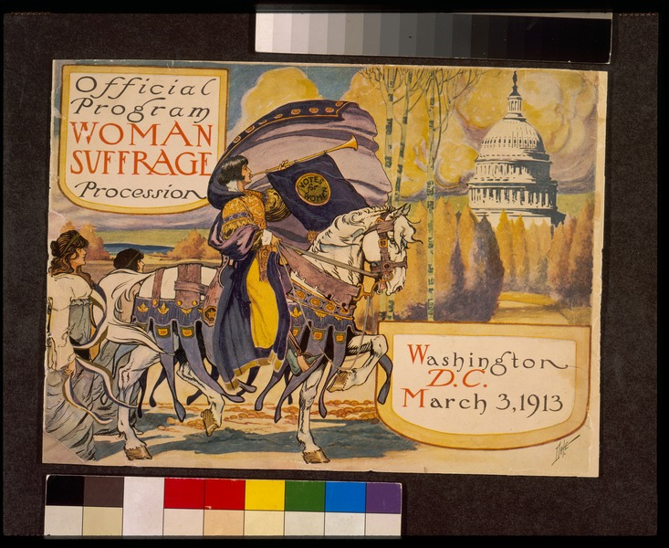 File:Official program - Woman suffrage procession March 3, 1913 - original LoC scan.tiff