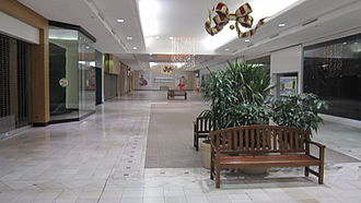 Dead mall - The former Dillard's wing in Tallahassee Mall in Tallahassee, Florida, United States, in 2011