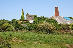 Old Mine Buildings at Wheal Busy.jpg