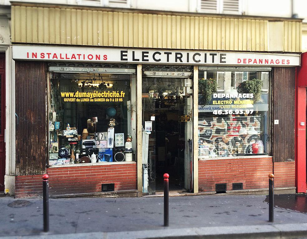 File Old Electrical Shop Paris March 2015 Jpg Wikimedia