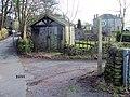 Old wooden garage - geograph.org.uk - 124233.jpg