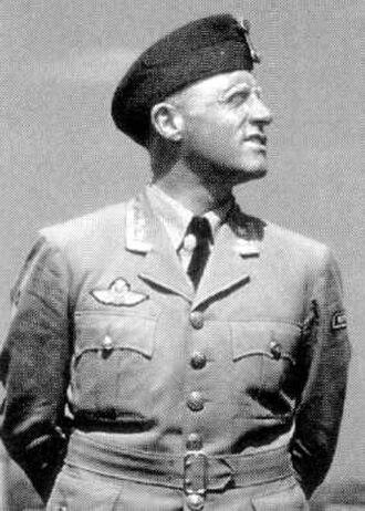 Ole Reistad - Reistad as an oberstløytnant
