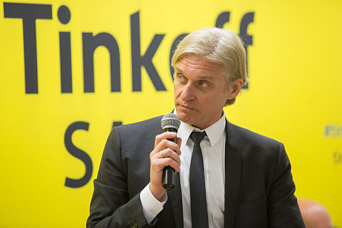 f90e3cdaf Oleg Tinkov at Tinkoff-Saxo event in Moscow