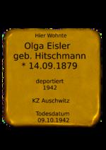 Olga Eisler