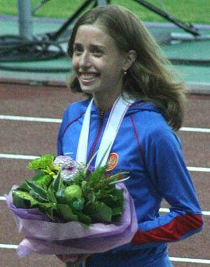 Olga Kaniskina - Kaniskina at Osaka 2007
