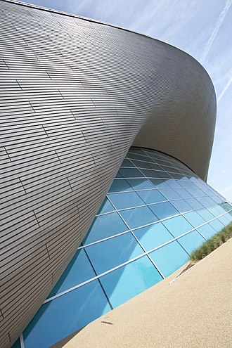 Balfour Beatty - London Aquatics Centre built by Balfour Beatty
