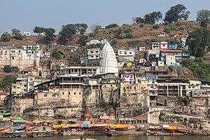 Jyotirlinga - Image: Omkareshwar Temple 01