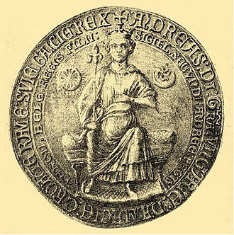 Andrew II of Hungary - The seal of Andrew II