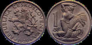 Czechoslovak koruna currency