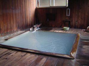 Onsen - Indoor onsen at Ōfuka Onsen