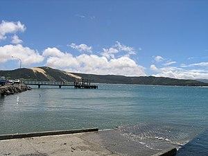 Opononi - Opononi wharf
