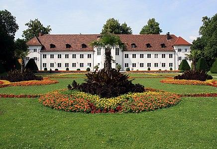 Garden of the Orangery in Kempten