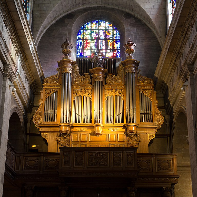 file orgue de la basilique saint sauveur rennes ille et vilaine france jpg wikimedia commons. Black Bedroom Furniture Sets. Home Design Ideas