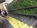 Original steps down into Brompton Road Tube (6036108316).jpg