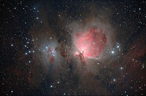 English: M42 - Orion Nebula and Surrounding Ne...