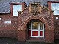 Ornate school entrance, at Cherry Grove School - geograph.org.uk - 651789.jpg
