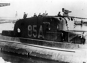 ORP Orzeł (1938) - Orzeł in the United Kingdom