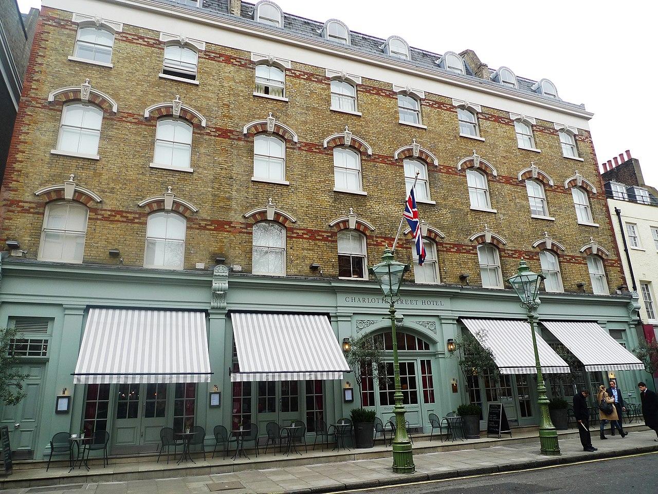 Charlotte Street Hotel Oscar Restaurant